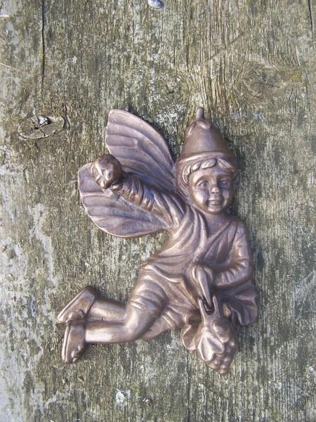 Türklopfer Elfe aus Bronze