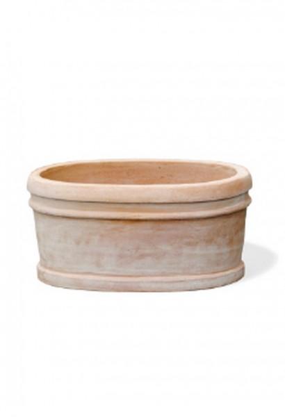 Bordino oval Terracotta Pflanzkasten 2er Set - Rossini Traditionelle