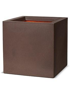 Cube Pflanzkübel | Capi Touch Braun