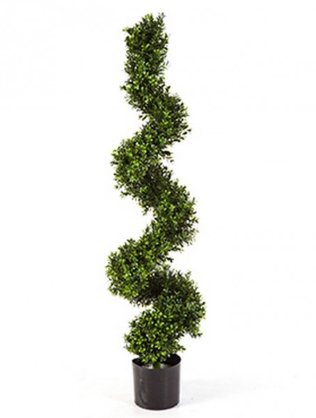 Boxwood  Kunstbuchsbaum Spirale 135 cm