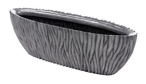 River Aluminium Oval | Pflanzvase