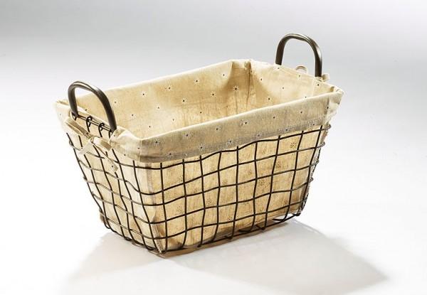 Dekokorb-Camilla-eckig-aus-Metalldraht-mit-Textil-bespannt