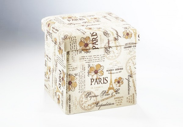 Hocker-paris-mon-amour-Schachtel-Box-Nostalgielook