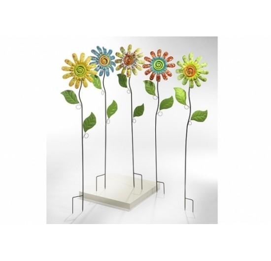 Sunia 5er Set | Deko-Blume auf Stab