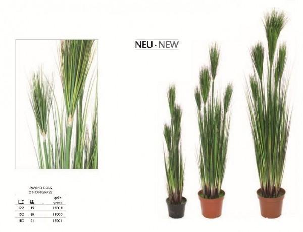 Zwiebelgras grün - Kunstpflanze