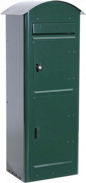 Stand-Paket-Briefkasten - Safe Post 80 green
