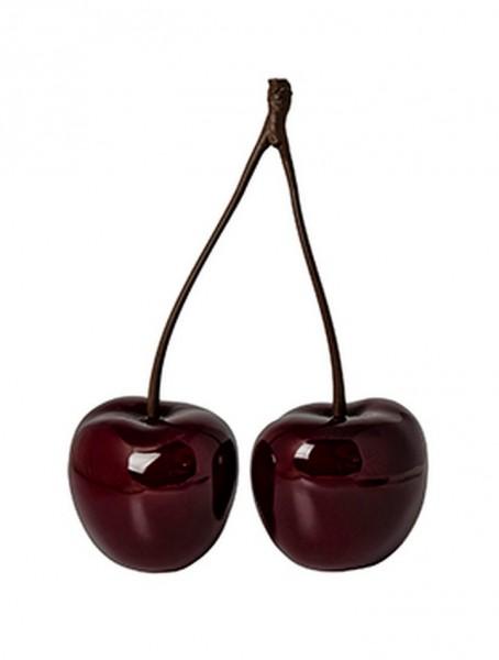 Cherry Love | Fiberglas Dekokirschen rot