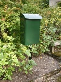 Briefkasten - Safe Post 14 grün