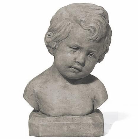Steinfigur - Der kleine Frederik