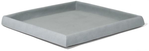 Untersetzer quadratisch für Pflanzkübel | Artline Cement
