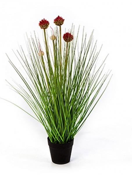Allium grass - Garten Knoblauch Kunstgras 50 cm