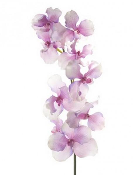 Vanda Zweig pink 100 cm   Orchideen Kunstpflanze