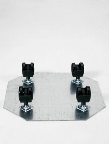 Rollengestell aus Metall   Schwenkollen 50 mm