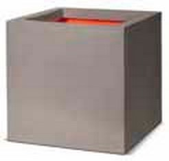 Cube Pflanzkübel | Capi Touch Hellgrau