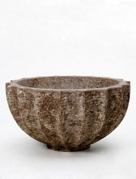 Rock Bowl Polystone Pflanzschale 60 cm