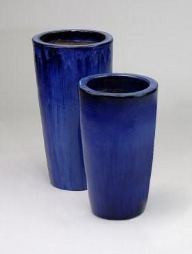 Partner Vase | Blau Keramik