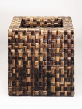 Banana Cube brown | Pflanzkübel