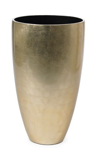 Venice-Champagne-Kunststoff-Pflanzvase