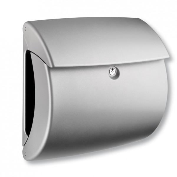 Kiel BURG-WÄCHTER | Kunststoff-Briefkasten mit Zeitungsfach