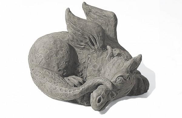 Drachen Steinfigur - Der kleine Grisu
