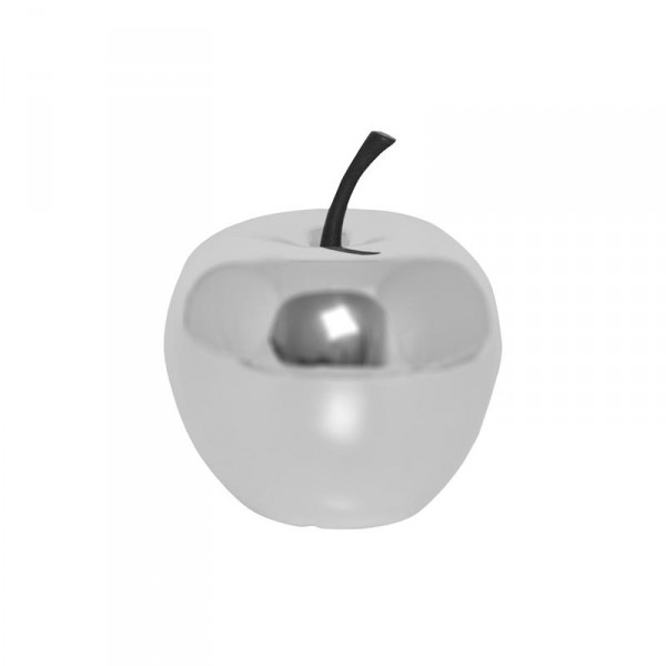 Apfel Platinum Collection Silber - Apple Fiberstone Dekofrucht
