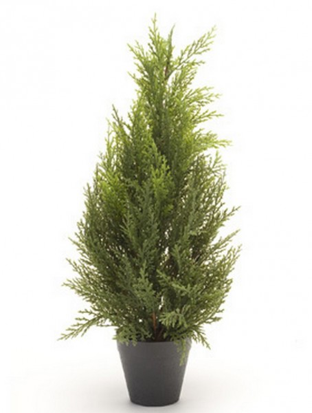 Juniperus Busch | Wacholder Kunstbusch im Topf