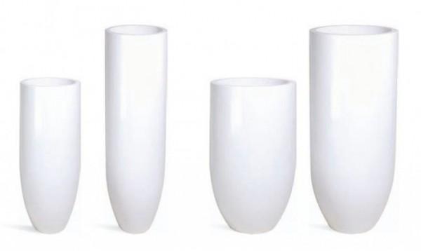 Pandora Pflanzkübel onyx white weiss lackiert