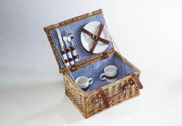 Gaudi Picknickkoffer Weide für 2 Personen