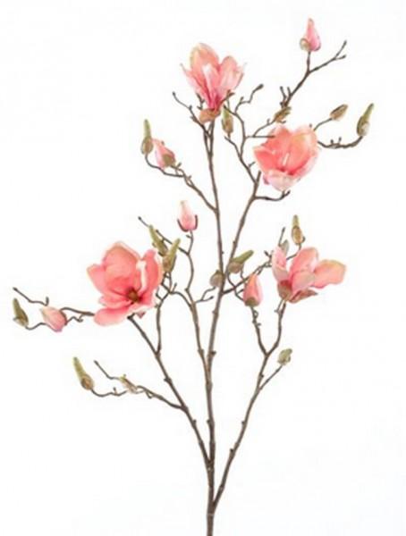 Magnolia pink Zweig 105 cm | Kunstpflanzenzweig