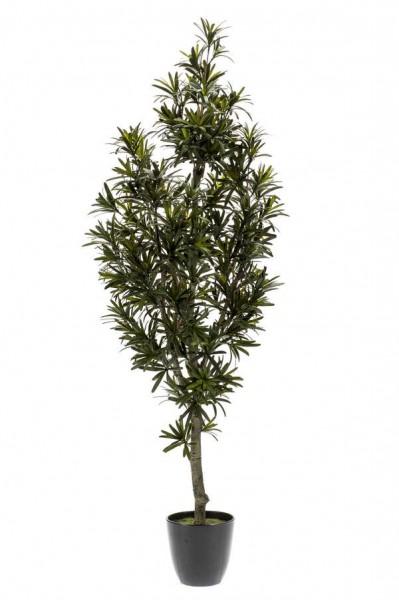 Podocarpus 120cm Steineibe Kunstbaum