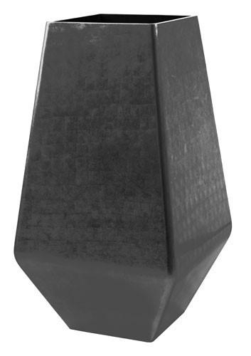 Square-Platinum-Kunststoff-Pflanzvase