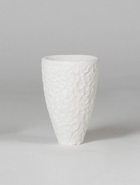 Rocka Pflanzvase white - Rockstone Polystone 20 cm
