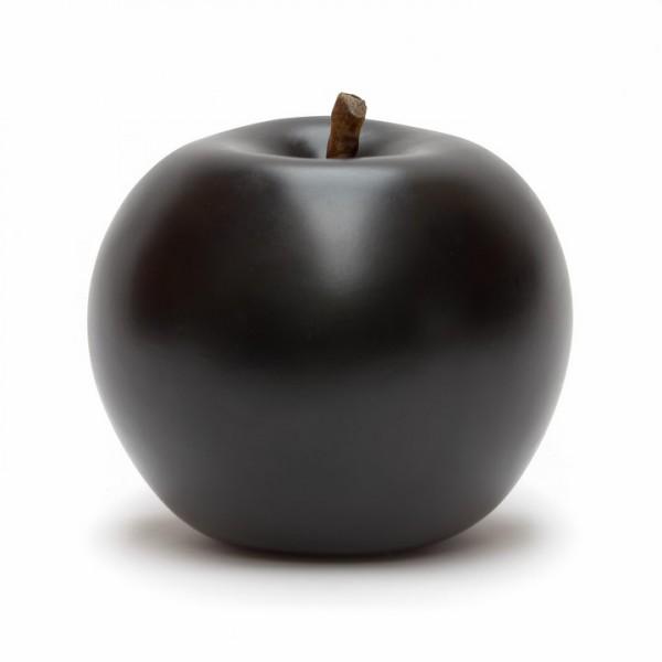 Keramik Apfel schwarz | Cores da Terra