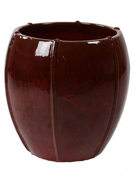 Keramikkübel Red Moda 43cm