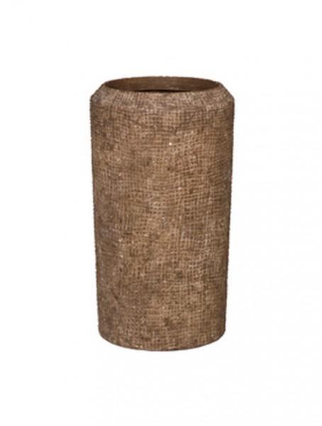 Pflanzsäule Brownstone - Polystone Alexi 50 cm