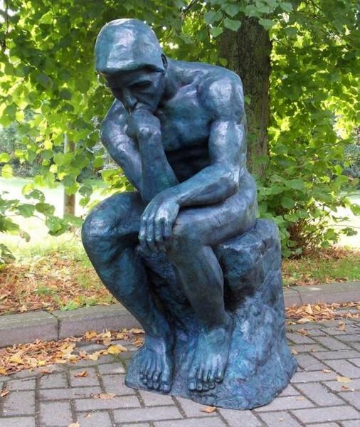 Rodin - Grosser Denker | Bronzeskulptur