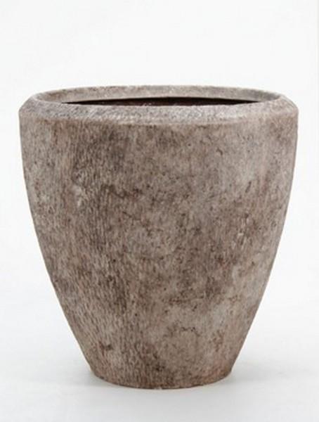 Polystone Rock Couple Pflanzkübel 40 cm
