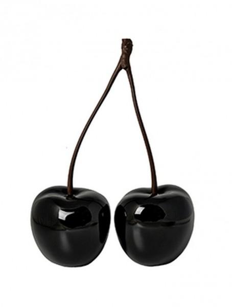 Cherry Love | Fiberglas Dekokirschen schwarz