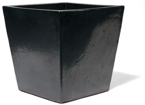 Vaso Quadro   Graphit Keramikkübel