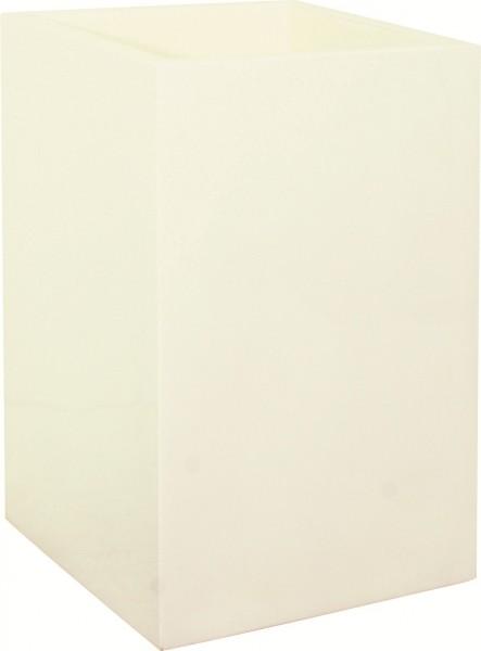 Tower white | Kunstharz Pflanzsäule
