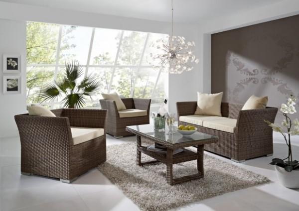 Kimios Gartenmöbel Set | Polyrattan