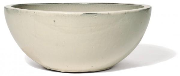 Schale Emisfera   Creme Keramik   Die Palme