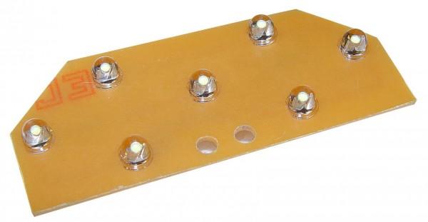 Gardenlights Ledpaneel Einheit GU5.3 mit 7 Einzel-LEDs