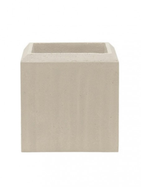 Polystone Square Pflanzkübel natural 17 cm