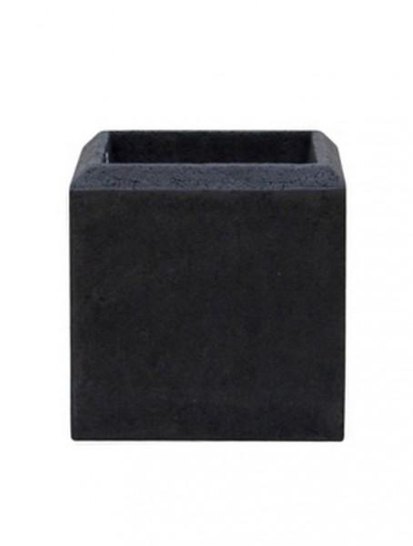 Polystone Square Pflanzkübel smoke 17 cm