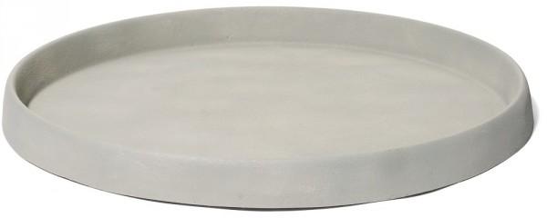 Untersetzer rund für Pflanzkübel | Artline Cement