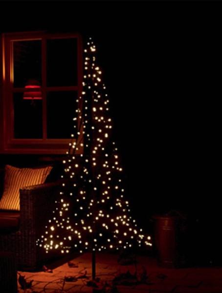 Fairybell 185 cm mit 250 warmweiß LED`s (Inkl. Mast)