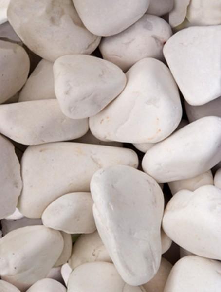 Pool marble Steine weiß | Pearl Stone 25 kg