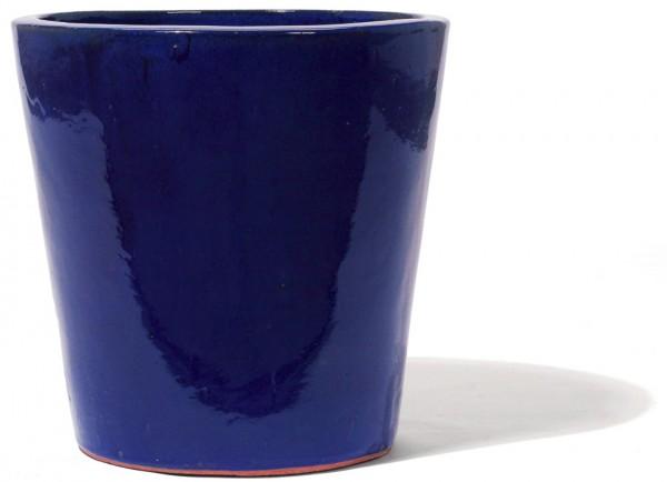 Vaso | Keramikkübel Königsblau