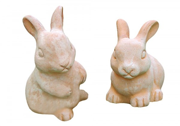 Hase 2er Set - Rossini Terracotta
